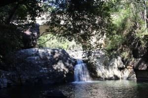 Below the bridge over Little Crystal Creek