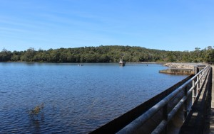 The waters of Paluma Dam