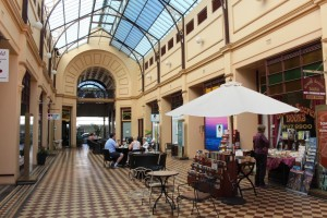 We lunched at a cafe in the historic arcade of the old stock exchange building