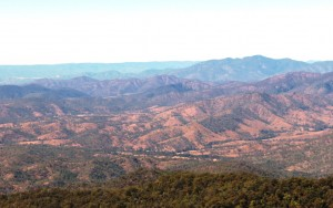 Part of the view from the lookout