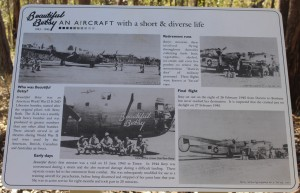 The doomed aircraft and crew