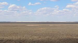 The dry lake bed at Mungo National Bank
