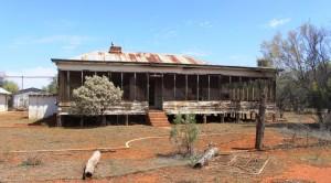 Abandoned New Chum homestead