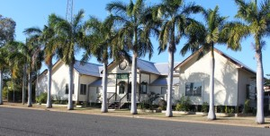 The old St Lawrence Shire Offices