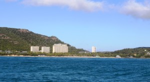 Hamilton Island High Rise from the east