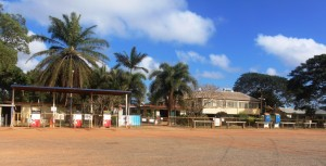 Historic Musgrave Station. Another oasis on a ling dry road