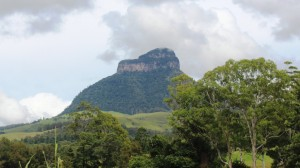 Mount Lindsay, from the highway that bares its name