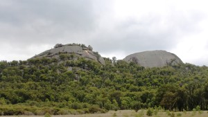 Other prominent rocks near the Pyramid