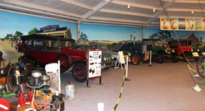 Motor vehicles have been lovingly restored to their former glory