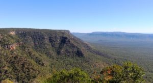 The view from the lookout that we reached