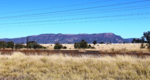 A final view of Blackdown Tableland as we drive back to Blackwater