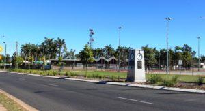 Public sporting facilities at Dysart