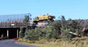 Coal production equipment at Peak Down Mine