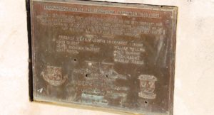 A plaque commemorates the passing of this site by the Leichhardt expedition in 1844-45