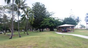 Picnic facilities at Seaforth