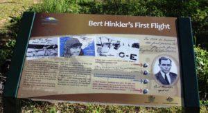 A tribute to Bert Hinkler at Mon Repos Beach