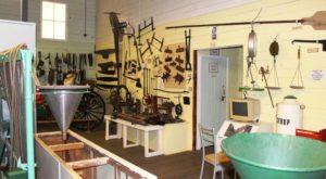 Mount Morgan museum display