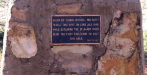 Inscription from the Mitchell plaque