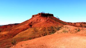 A path for the fitter leads to the summit if the Cawnpore jumpup