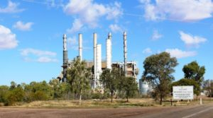 One of the power stations at Mt Isa
