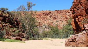 The Bluff at the foot of Trephina Gorge