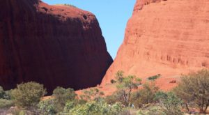 The domes that form Walpa Gorge
