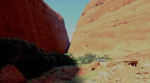 The final part of the Walpa Gorge walk