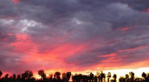 The final sunset at Uluru