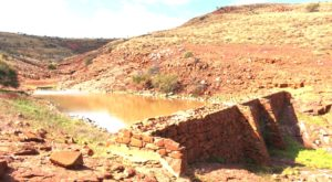This water storage was built in the 1880s