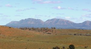 The Elder Range from the Hawker Blinman Road